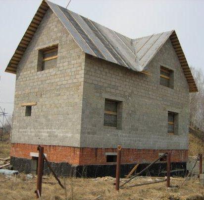 Дома из шлакоблока отзывы